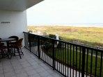 Private Beachfront Balcony