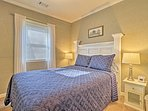 Get a good night's sleep in the welcoming master bedroom.