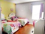 Second floor twin bedroom 1