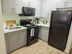 Please enjoy our fully furnished kitchen to cook up any and all of your favorite dishes!
