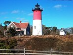 Visit Nauset Light, you may recognize this famous lighthouse from the Cape Cod Potato Chip bags! - Eastham Cape Cod...
