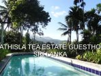 Strathisla Tea estate Guesthouse poolside