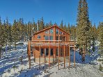 This remote chalet is the ideal Rocky Mountain escape.