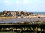 Alnmouth, near Alnwick. Northumberland Coast.
