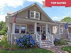 Look for the *Blue Hydrangea Beach Cottage in Belmar* to find out more about renting our home.