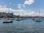 Beautiful Rushcutters Bay just 8 minute stroll to the water's edge