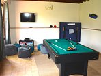 Fun and games to be enjoyed in the games room