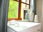 Clean, crisp and light filled rooms, beautifully furnished