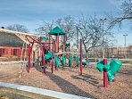 You'll be a short walk from parks and playgrounds.