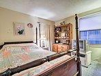 Bedroom 2 hosts a cozy queen-sized bed.