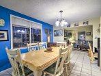 Located just 2 blocks from the famous Seaside Heights boardwalk, this 1,200-square-foot home comfortably accommodates 8...