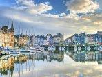 Captivating port of Honfleur
