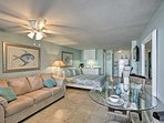 Plan your Daytona Beach Shores getaway to this oceanfront vacation rental studio!