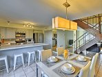 Experience the best of Scottsdale, Arizona in this 3-bedroom, 2.5-bathroom vacation rental townhouse for 7.