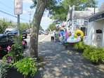 Stroll through the Port- no need to drive - everything is steps away-Harwich Port Cape Cod New England Vacation Rentals