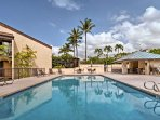 Cool off in any of the 3 community pools on the property.