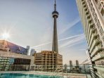 REC floor with pool, cabana (seasonal)