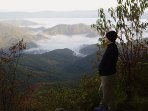 Bartram Trail hiker.