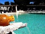 piscina in comune con altri ospiti