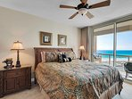 Master bedroom with beach view 1-903 west