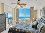 Guest bedroom with beach view 1-903 west