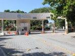 The Playacar entrance at the Playa del Carmen exit.