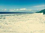 Daliburgh Beach - 5 Minute Drive.