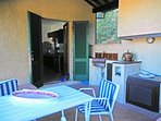 Villa Calypso, with kitchen