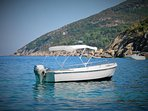 Villa Calypso, boat available included in the price