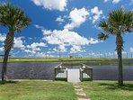 Stocked Fishing pond on property