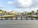 Whether window shopping or bargain hunting, you will enjoy strolling the beautiful grounds of Coconut Pointe.