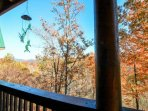 Beautiful Wooded and Mountain Views of the Smokies from 2x Balconies!