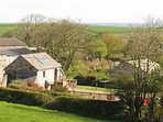 Gospenheale Barn is surrounded by beautiful Cornish countryside.