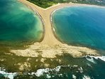 Aerial View of Incredible Uvita Whale's Tail