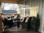 Chill out on a cozy front southern porch!