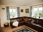 The sitting room in Hornstone Cottage