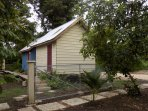 Street access to Belmopan Tiny Houses