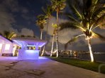 Outdoor LED Bar perfect for entertaining guests!