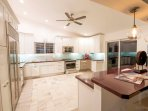 Open Chef's kitchen - open to the house, dining room and the great outdoors!