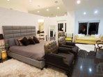 Master Bedroom is beyond spacious