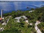 Aerial View Across Lemon Bay -- Watch the Drawbridge in Action All Day!