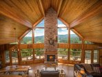 Luxury Cedar Cabin with Grand Views. Just 7 Miles to Boone, North Carolina