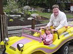 K39 Thistle Cottage – There is lots to see for the young & old at Furuvik Amusement Park