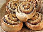 K39 Thistle Cottage - Kanelbullar or cinnamon buns always taste good!