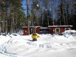 K39 Thistle Cottage – SWESCOT prepare the Sauna & Hot Tub even in Winter