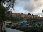 Parking Alcazaba muy cercano