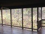 Covered back deck