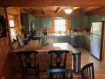 Kitchen, Counter Bar & Stainless Appliances