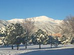 Enjoy a Colorado vacation with Pike's Peak in your backyard!