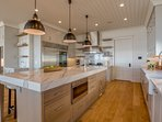 Kitchen with Wolf appliances